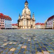 Dresden Frauenkirche — Stock Photo