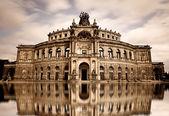 Dresden theater — Stock Photo