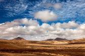 Desert landscape Canary Islands — Stock Photo
