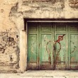 Stock Photo: Old door