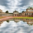 The courtyard of Zwinger in Dresden, Germany. — Stock Photo