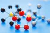 Model of chemical molecule — Stockfoto