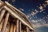 Classical pillar, Greek architecture — Stock Photo