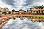 Dresden, almanya zwinger avlusu. — Stok fotoğraf
