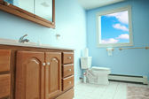 Interior of toilet room — Stock Photo