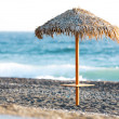 Stock Photo: Beach umbrella