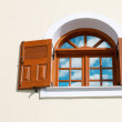 Window with open shutters  — Stock Photo