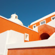 Church on the island of Santorini, Oia, Greece — Stock Photo