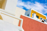 Arcitecture on the island of Santorini, Oia, Greece — Stock Photo