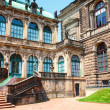 Dresden old masters Zwinger palace — Stock Photo