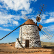 Stock Photo: Windmill on Canary Islands