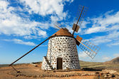 Windmill on Canary Islands — Stock Photo
