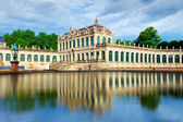 The courtyard of Zwinger in Dresden — Photo