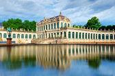 The courtyard of Zwinger in Dresden — Stok fotoğraf