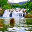 Stock Photo: Waterfall in KrkNational Park