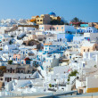 Oia on the island of Santorini — Stock Photo