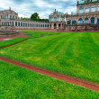 The courtyard of Zwinger in Dresden — Stock Photo