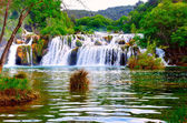 Waterfall in Krka National Park — Stock Photo