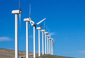 Electric wind generators — Stock Photo