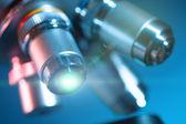 Lente del microscopio — Foto de Stock
