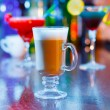 Irish coffee on bar interior — Stock Photo #40503289