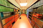 Library ABBE Center of Photonics (ACP) am Campus Beutenberg in Jena. Gerrmany — Stock Photo