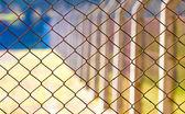 Rabitz mesh netting — Stock Photo