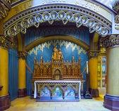 Iconostasis of the Catholic Church — Stock Photo