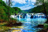 Waterfalls of the Krka — Stock Photo
