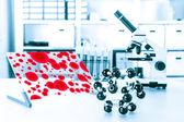 Nanotecnología de laboratorio — Foto de Stock