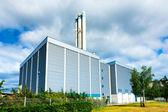 Building modern industrial enterprise — Stock Photo