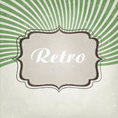 Retro background vector — Stock Vector