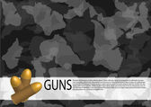 Bullets. — Stock Vector