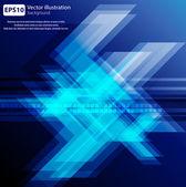 High-tech blue vector background — Stock Vector