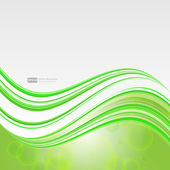 Color wavy background — Vecteur