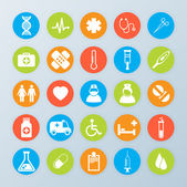 Vector Medical Icons 25 Set — Stock Vector