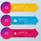 Design template banners set — Stock Vector
