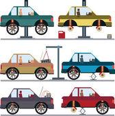 Ensemble des services de l'automobile — Vecteur
