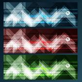 Resumen de banderas — Vector de stock