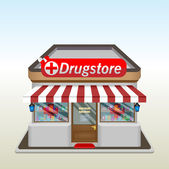 Drug Store icon — Stock Vector