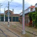 Tram depot — Stock Photo #38237739