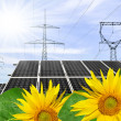 Solar energy panels — Stock Photo #12533443