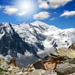Mont Blanc-France — Stock Photo