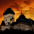 Karlstejn in Czech Republic - Stock Photo