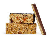 Chocolate Muesli Bars — Stock Photo