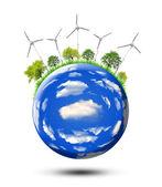 Eco planet — Stock Photo