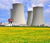 Nuclear power plant — Foto de Stock