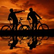 Two cyclists — Stock Photo #13374476