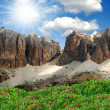 Sella,Val di Fassa, Italy Alps - Stock Photo