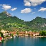 The city of Riva del Garda — Stock Photo #13742793